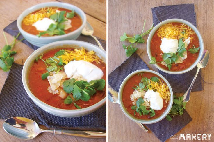Ultimate Game Day Chili | Camp Makery | Super Bowl