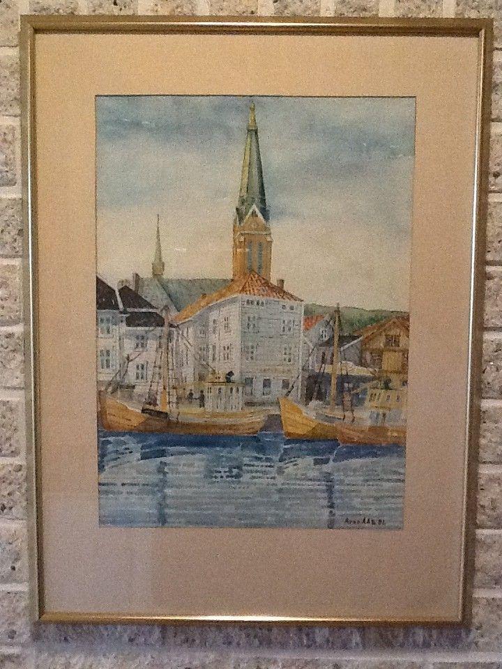 FINN – Oljemalerier og akvareller