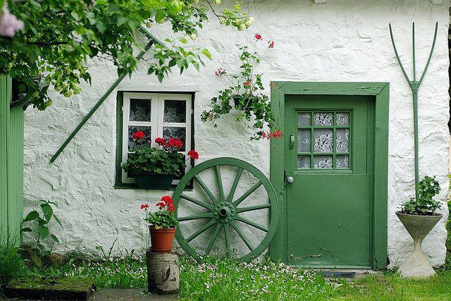 A traditional thatched cottage from beautiful IRELAND, by unknown author. Repinned by WI/IE. _____________________________ Do feel free to visit us on www.wonderfulirel... for lots more pictures and stories of Ireland.