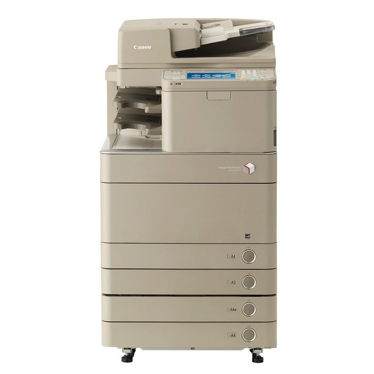 """Canon IR Advance C5240A Color Copier with Fax and Finisher - 40ppm, Copy, Print, Scan, 4 Trays, 58K Meter Count. Standard Functions: Copy, Print, Scan, E-mail, Fax, Inner Finisher. Copy/Print Speed: up to 45 ppm b&w / up to 40 ppm color. Supported Media Sizes: up to 12"""" x 18"""" (A5, A4, A3, SRA3). Paper Input Capacity (std/max.): 1,200 sheets / 5,000 sheets. Includes: Minimum 50% Consumables and 30-Day Parts Warranty."""