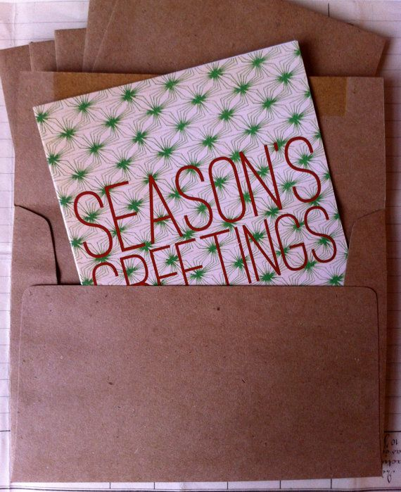 super unique holiday greetings in my etsy shop get them