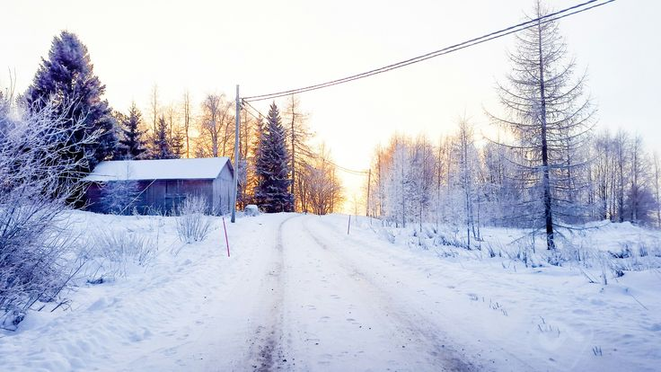 #countryside #Vieremä #Finland #winter #snowy  ©AssiPulkkinen