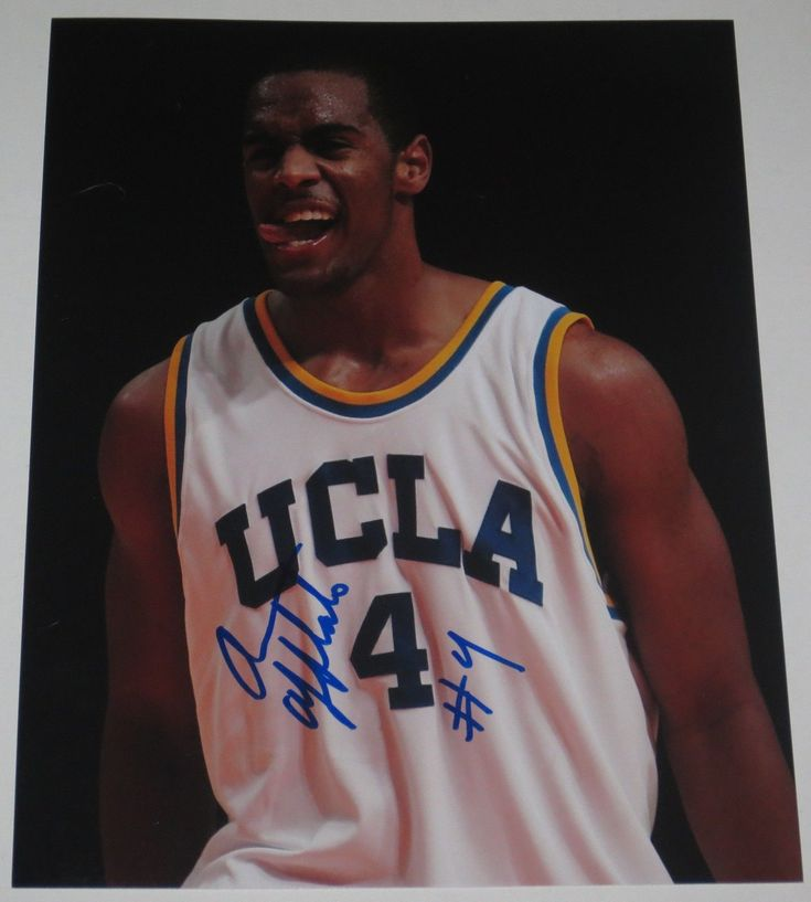 ARRON AFFLALO SIGNED 8X10 PHOTO AUTHENTIC AUTOGRAPH UCLA BRUINS NBA MAGIC COA C