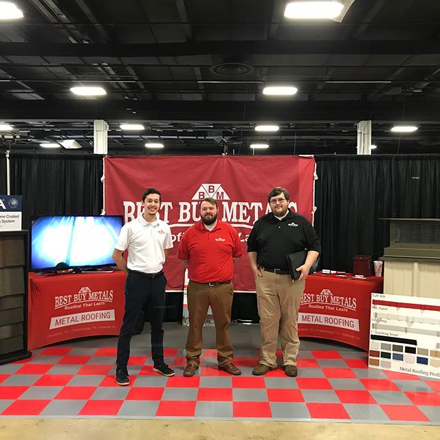 2017 Home Show Doug Lead Outside Sales Wholesale Division Josh Lead Inside Sales Mason General Manager Of Greenvil Cool Things To Buy Roofing Metal Roof