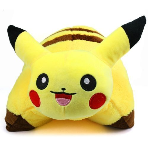 pikachu pillow pet pokemon bedroom ideas httpwallartkidscompokemon
