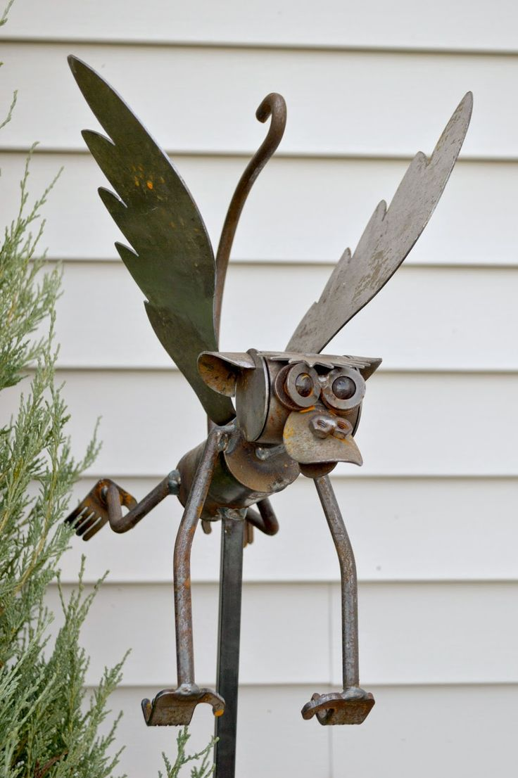 Metal Yard Folk Art Christmas