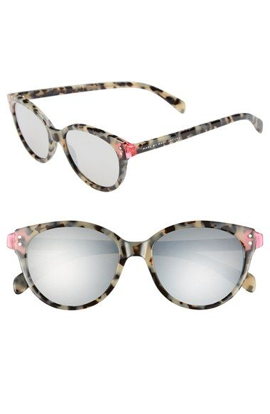 MARC BY MARC JACOBS 'Preppy' 51mm Retro Sunglasses available at #Nordstrom