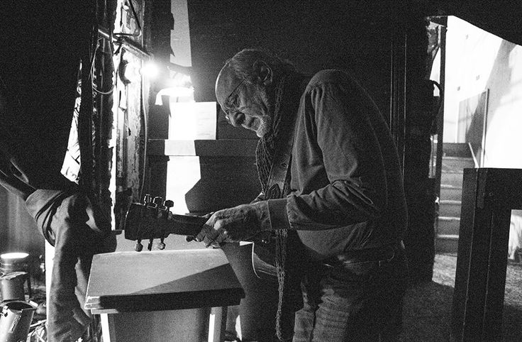 Peter Yarrow backstage Photo by: Barry Schneier Photography