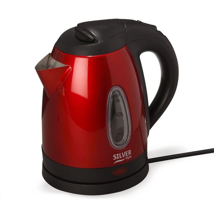 Bouilloire rouge 1L Rouge - Baltic - Le petit déjeuner - Le petit électroménager - Cuisine - Décoration d'intérieur - Alinéa