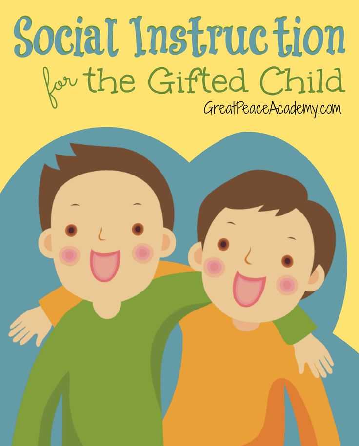 Social Instruction for the Gifted Child at Great Peace Academy