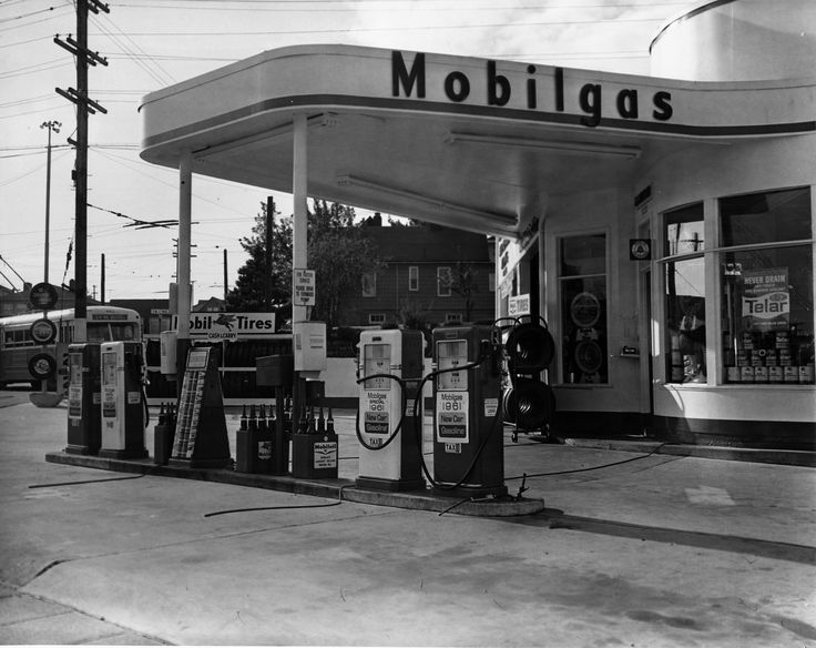 Old Gas Stations In Northern California