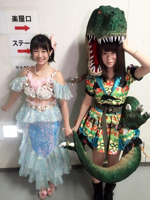 Tomonaga Mio-AKB48 team 4/HKT48 Team KIV, Tomiyoshi Asuka-HKT48 Team KIV