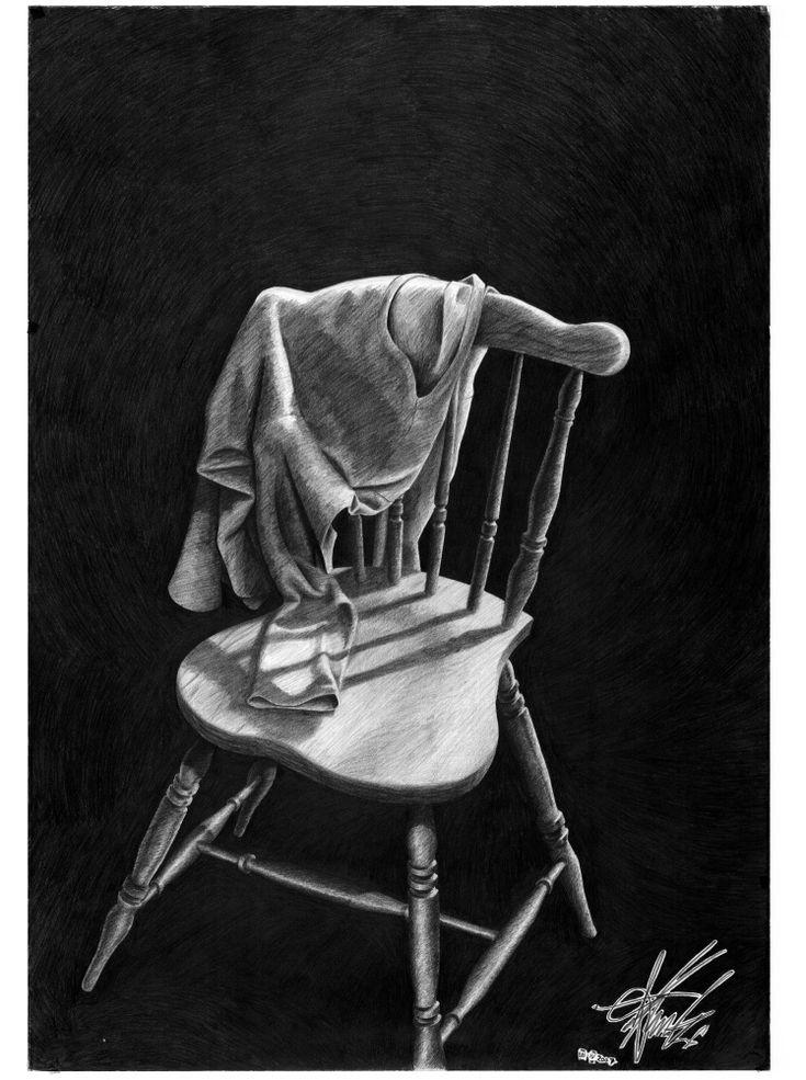 #chair, #hand drawn, #handdrawn, #pencil,  #academic #art