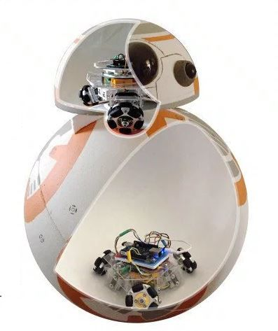 Make your very own BB-8 droid from Star Wars Episode VII http://makezine.com/projects/build-full-size-working-bb-8-using-beaglebone