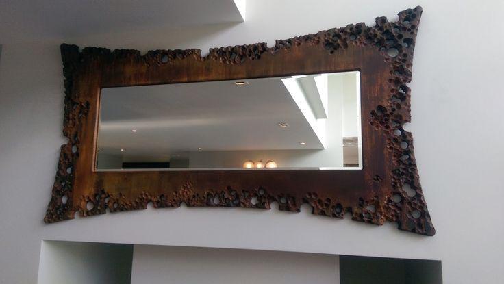 Volcanic Rusty Mirror Treniq Mirrors. View thousands of luxury interior products on www.treniq.com