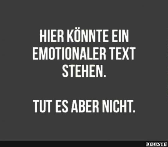 Hier könnte ein emotionaler Text stehen..