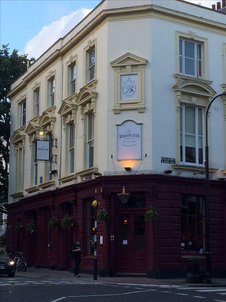 The Washington Pub, England's Lane, NW3