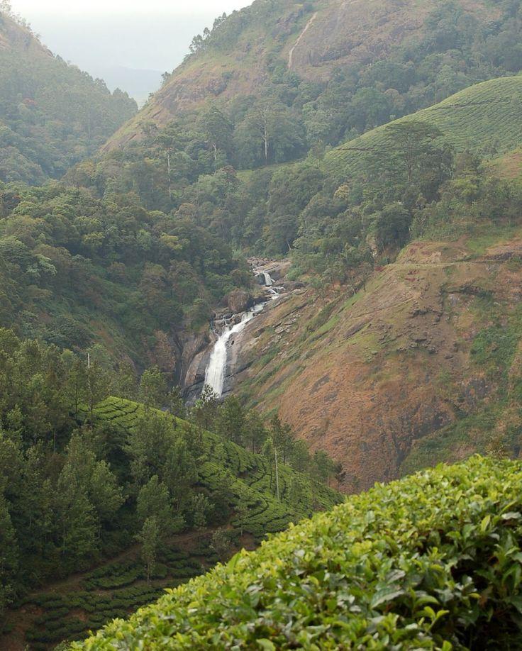 Waterfall At Munnar, Kerala Munnar, Beautiful places