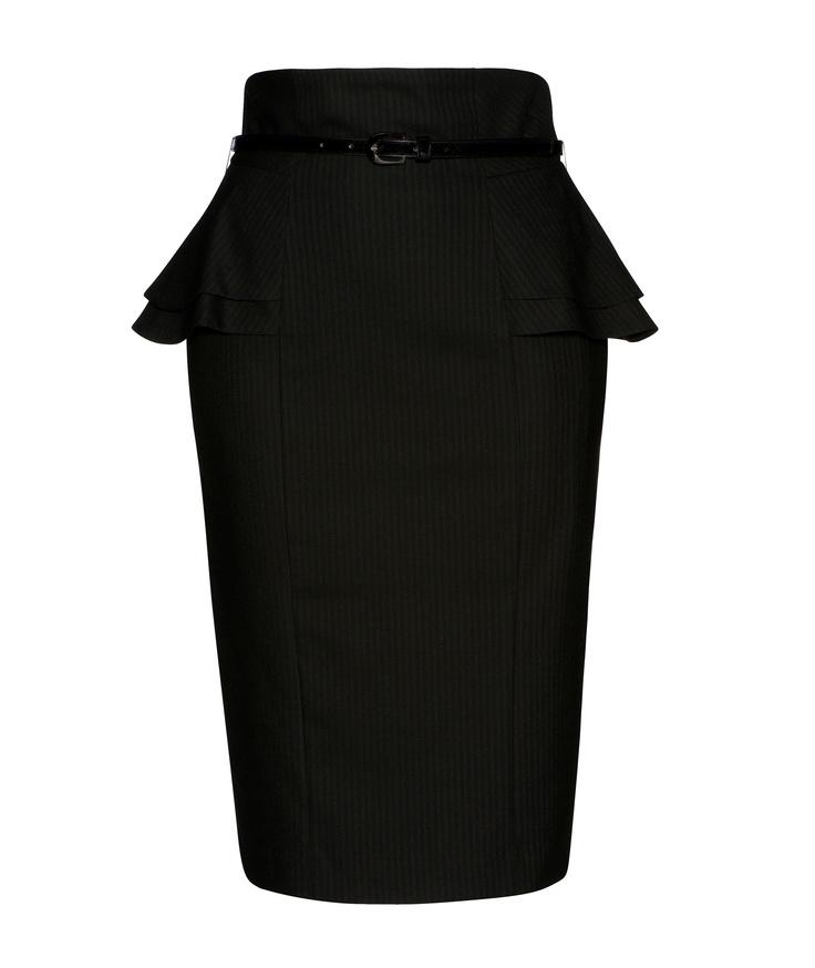 Cue - Double Peplum Pencil Skirt