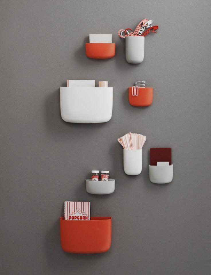 Organizér Pocket 1 od Normann Copenhagen, červený   DesignVille