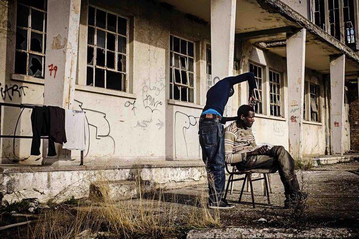 Atrapados en Patras #Migración #Patras #Grecia #Frontera
