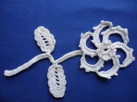 For those of you who like handwork, here's a video demonstration of how to make a flower in Irish Crochet.  Now imagine crocheting a whole wedding gown!