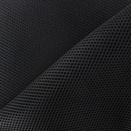 Tissu résille matelassée noir mesh 3D x 10cm - Ma Petite Mercerie