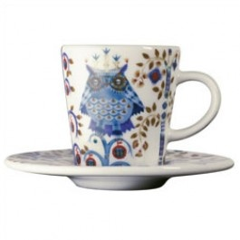 Iittala Taika White / Blue Espresso Cup And Saucer A Chic Addition To The  Taika Collection, The Delectable Espresso Cup And Saucer Make Enjoying A Cup  Of ... Amazing Ideas