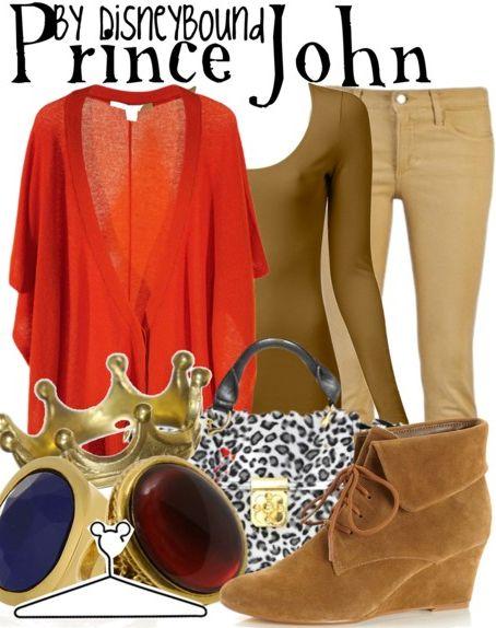 disney bound prince john