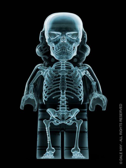 X-Ray Lego Stormtrooper @Geek_Art