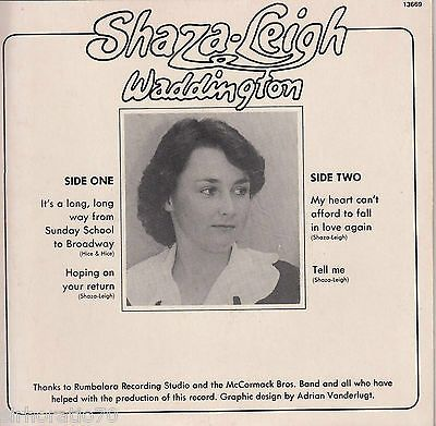 The very first - back cover #ShazaLeigh