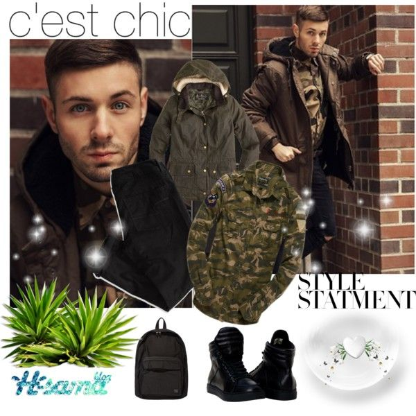 men's snow by hsama on Polyvore featuring Superdry, J.Crew, American Eagle Outfitters, Porter, Winter, snow and hsamablog: