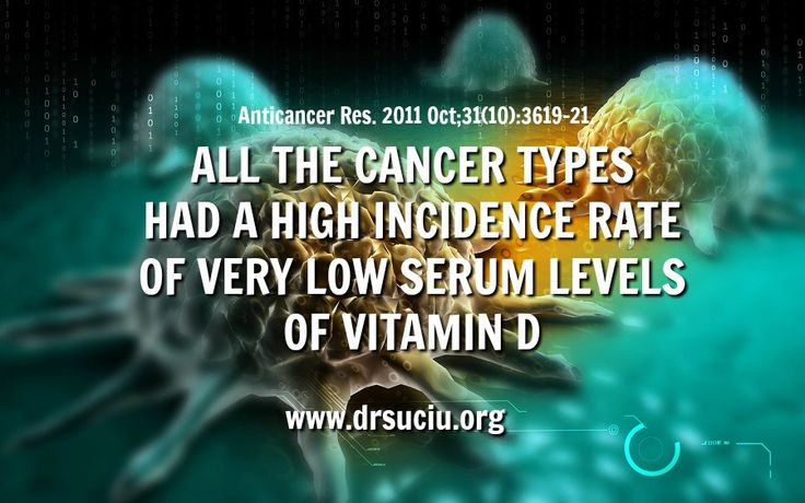 Severe vitamin D deficiency linked to cancer