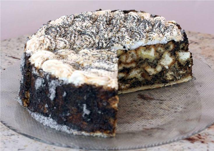 Mákos guba torta recept - MindenegybenBlog
