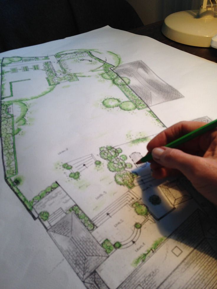 113 best Garden designs drawings planting plans images on