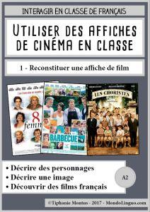 Reconstituer une affiche de cinéma | Mondolinguo - Français
