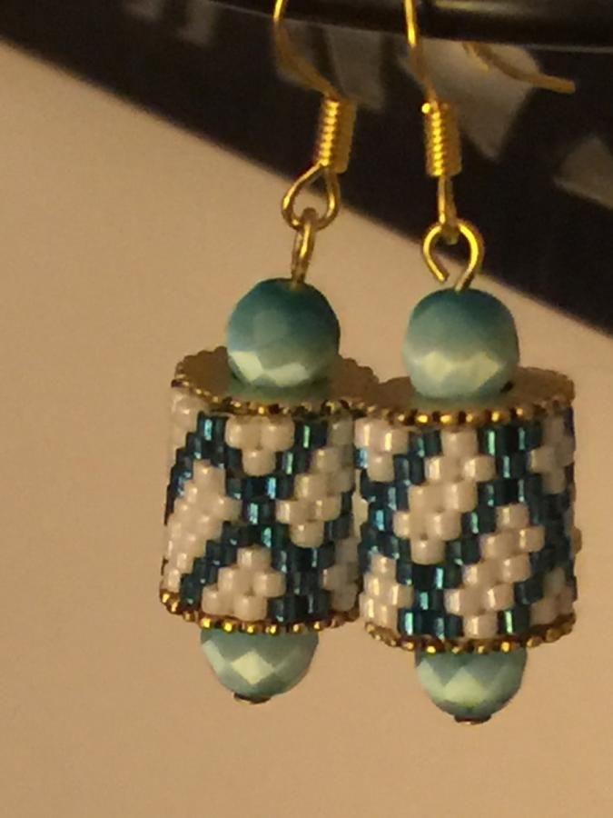 Charming Channel Earrings  by bojanli