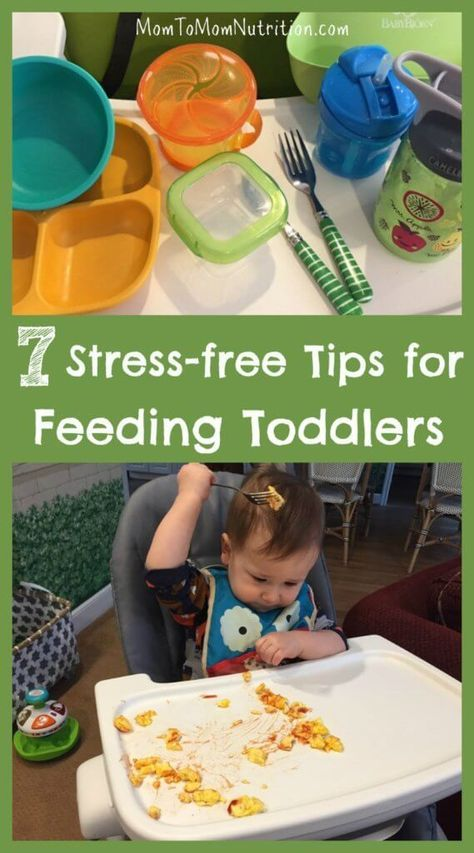 Feeding toddlers can be stressful and messy. Learn some simple feeding strategies to get your toddler to try new foods while making family mealtime fun.