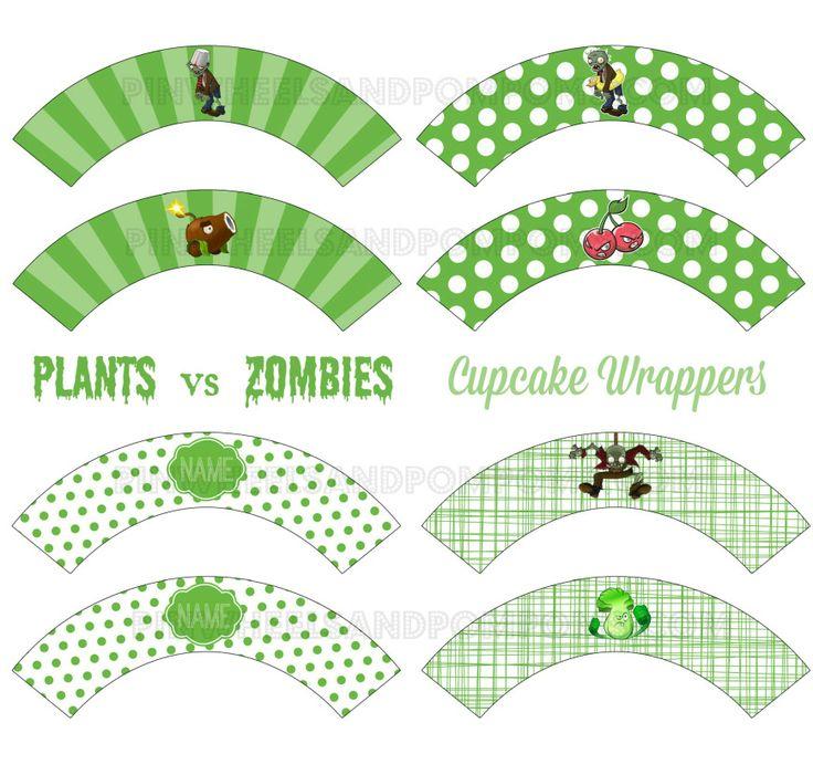 1000 images about festa plants vs zumbies on pinterest party printables plants vs zombies. Black Bedroom Furniture Sets. Home Design Ideas