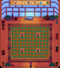 Greenhouse sprinkler layout