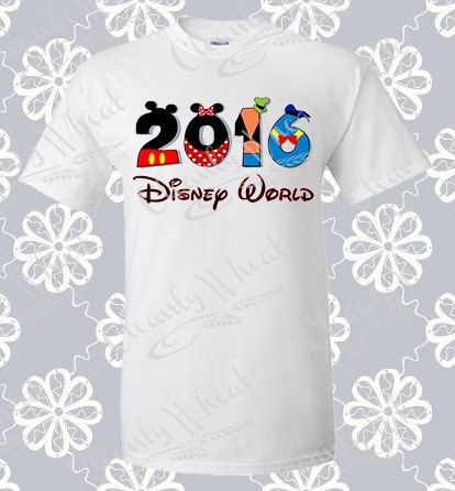2016 Disney Family Vacation shirts, Mickey Mouse Shirt Disney World Shirt Matching Family shirts First trip to Disney World Digital Download by CleanlyWheat on Etsy