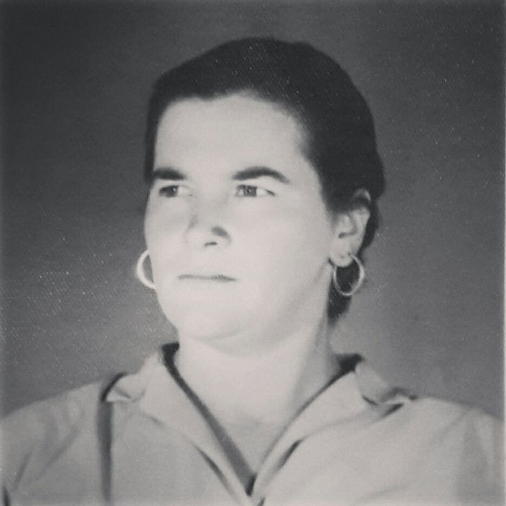 My Grandmother Augusta in 1950's. This great woman is such a big inspiration to me and she just turned 90! Congratulations, Augusta. ♡♡♡ #grandmotheraugusta #1950s #familyvintageportraits