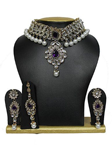 VVS Jewellers Bollywood Style Gold Plated Kundan Choker P... https://www.amazon.com/dp/B01MDQLN79/ref=cm_sw_r_pi_dp_x_kHtVybY3ZAXR9