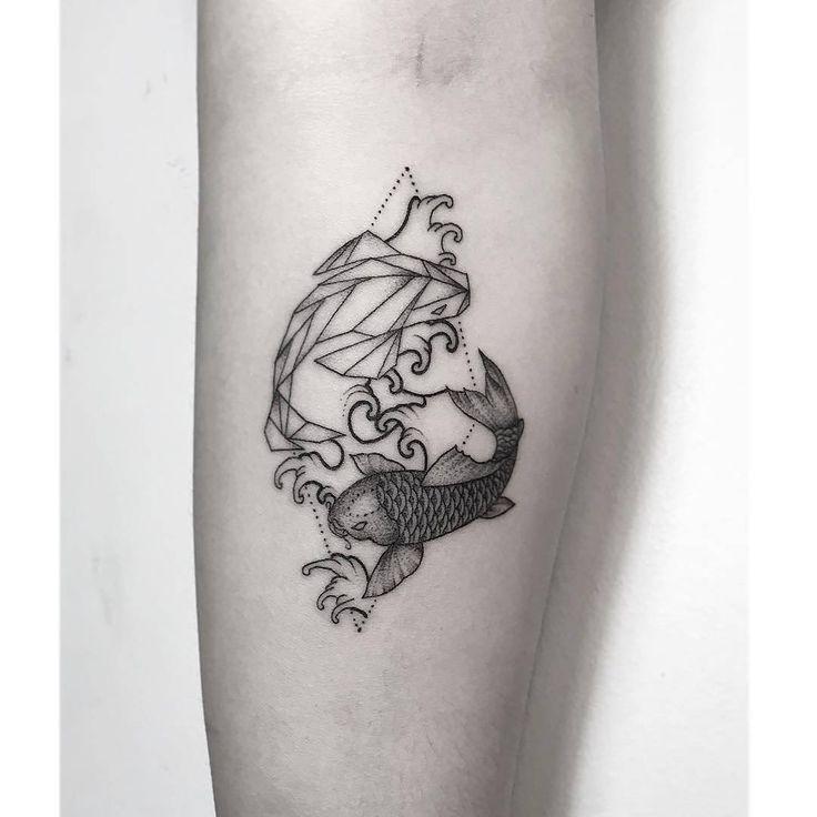 Best Koi Fish Tattoo Design Ideas Images On Pinterest Tattoo - 30 unique pisces tattoos design ideas boys girls