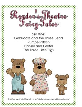 easy reader reader 39 s theatre fairy tale scripts for primary grades my teacherspayteachers. Black Bedroom Furniture Sets. Home Design Ideas