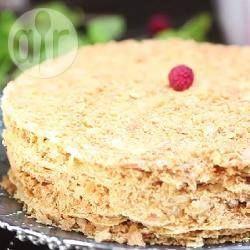 Rezeptbild: Russische Napoleon Torte