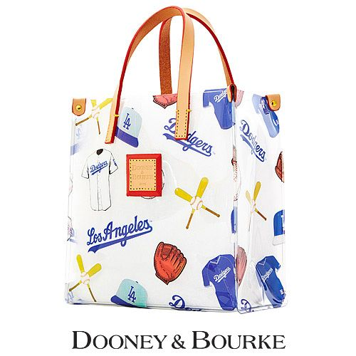 Freaking. Out. Los Angeles Dodgers MLB Clear Lunch Tote by Dooney & Bourke - MLB.com Shop
