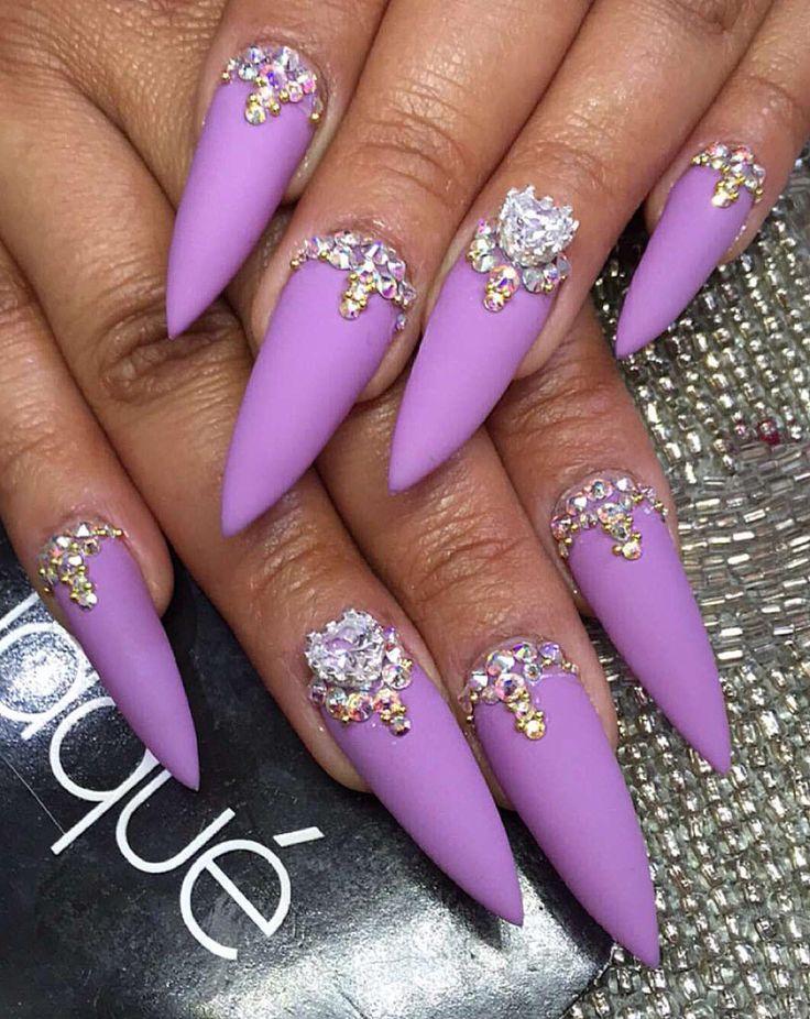 Pɪɴᴛᴇʀᴇsᴛ: Kᴇᴋᴇ_Bʟᴀsɪᴀɴ Bᴀʀʙɪᴇ Pointy Purple&Diamonds                                                                                                                                                                                 More