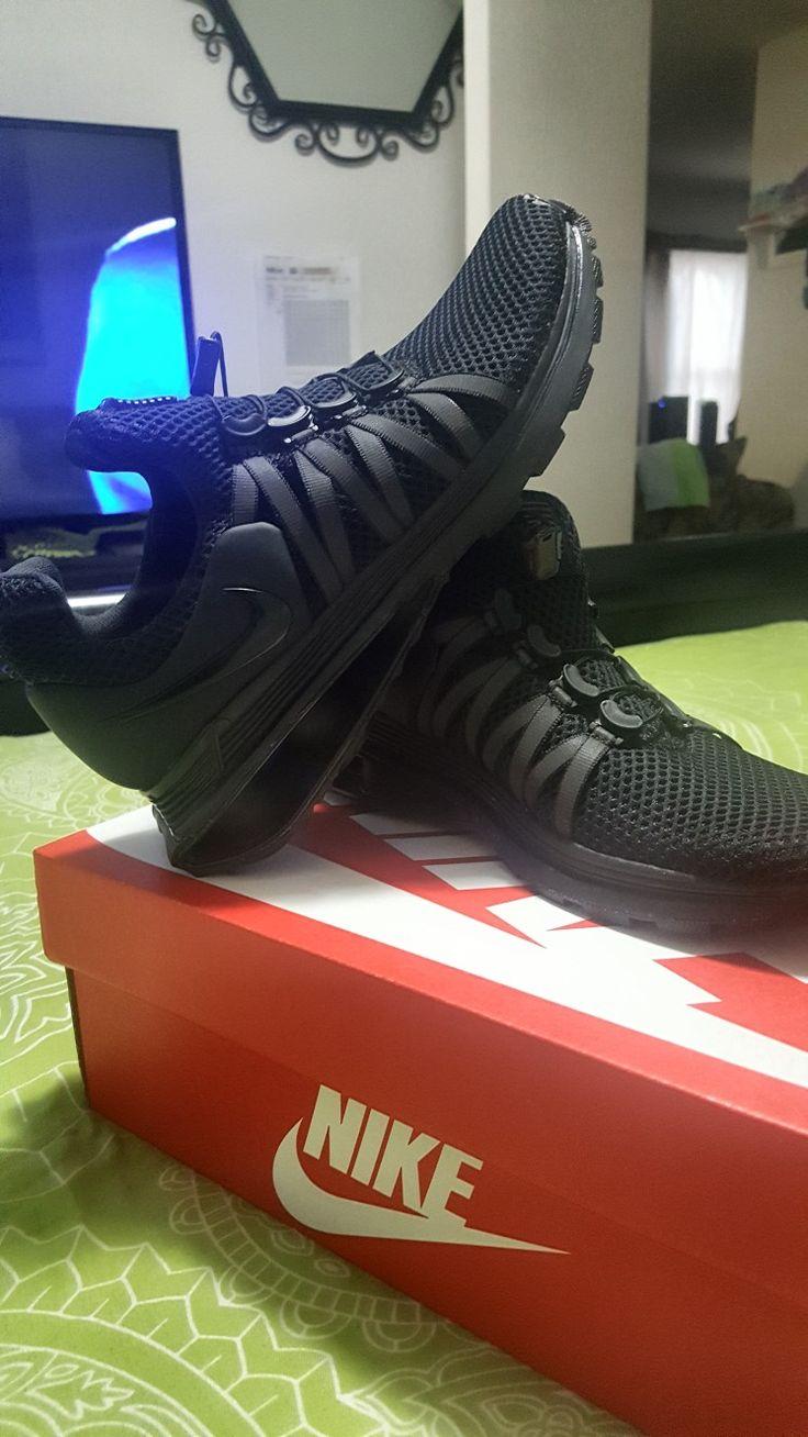WMNS NIKE SHOX GRAVITY 6.5 Women Black/Noir Tennis shoes
