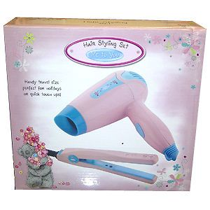Me to You Hair Styling Set Hair Dryer and Mini Straightener Gift